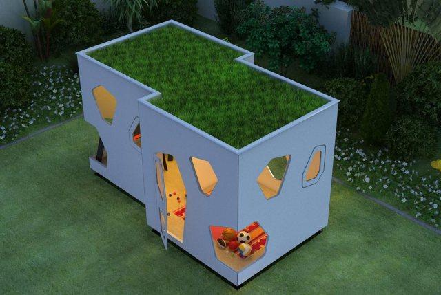 こんな秘密基地欲しい〜! ハイセンスな子供用プレイハウスを販売しているサイトを発見したよ☆