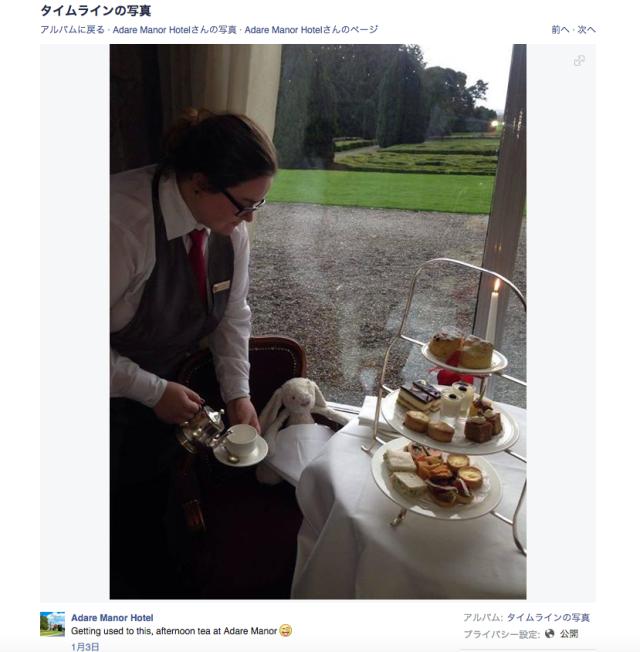 忘れ物のウサギのぬいぐるみに「最高級のおもてなし」を提供していたアイルランドのホテルがFacebookで話題に!!