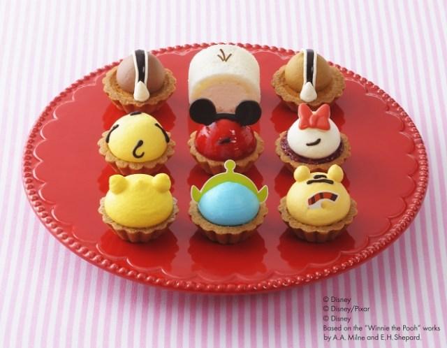 コージーコーナーのプチケーキシリーズから「ディズニー ツムツム」デザインが発売!! かわいいお尻が勢ぞろいで可愛すぎるよーっ!