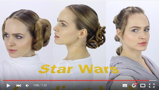 レイア姫&アミダラ&レイのヘアスタイルがまるわかり! 『スター・ウォーズ』シリーズのヒロインたちになれる髪型講座☆