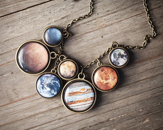 惑星や月がアンティーク調のアクセサリーに! 天体好きにはたまらないプチプラジュエリーを見つけたよ☆