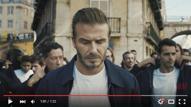 「なんでみんな俺と同じ格好なんだ…?」デイヴィッド・ベッカムさんが出演する「H&M」新CMがシュールすぎ!