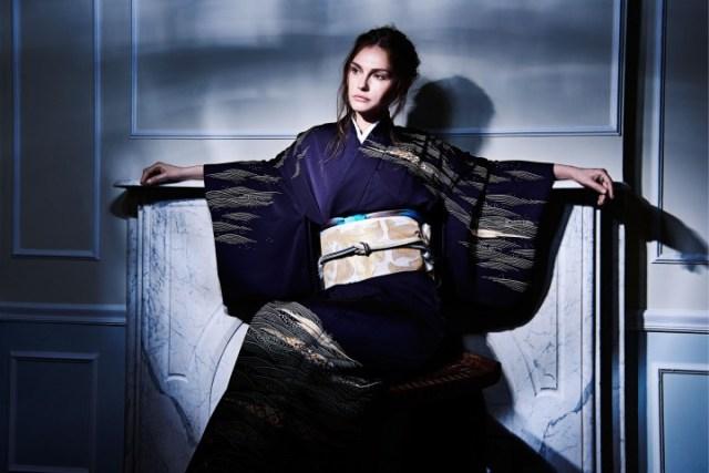 NYコレクションのランウェイに着物が登場! 日本人なら胸が熱くなること間違いなしだよぉ〜!