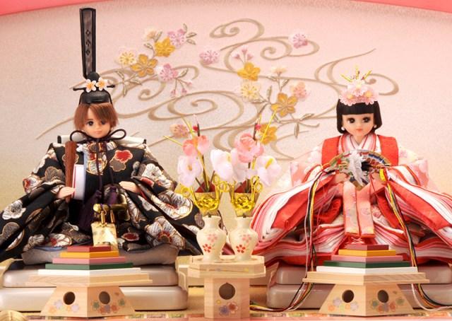 【ときめく】「久月」と「タカラトミー」がコラボ! 黒髪&艶やかな着物姿が美しい『リカちゃんひな人形』が数量限定で発売中♪
