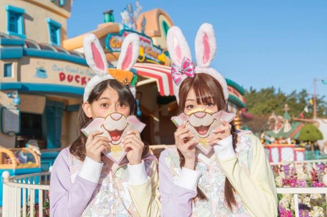 """今年も東京ディズニーランドで「ディズニー・イースター」開催!!  """"うさみみ""""カチューシャをつけて盛り上がろう!"""