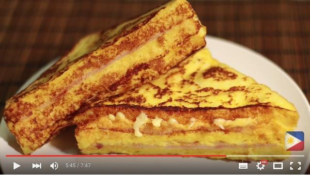 フレンチトーストとサンドイッチのドッキング! とろ〜りチーズが美味しい「モンテ・クリスト・サンドイッチ」を作ってみよう♪