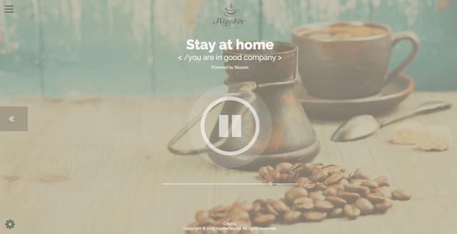 【作業用BGM】自宅にいながらスタバ気分…外国のカフェの音が聴けるサイト「Hipster Sound」が便利すぎる!「雨音」や「海辺の音」も追加できます♪