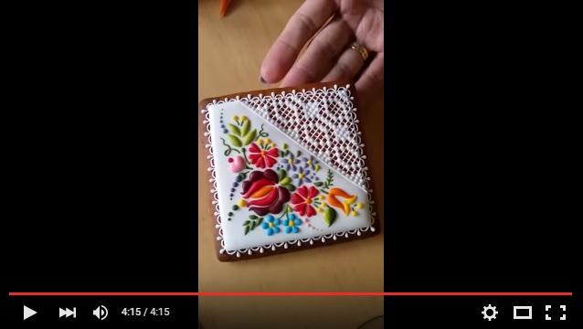 これ、刺繍じゃないの…!? ハンガリーの職人が作り出すアイシングクッキーが神ワザすぎて手芸作品にしか見えないよ!!