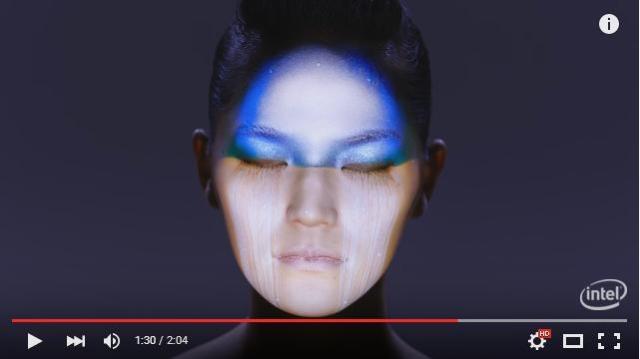 """【圧巻】日本人クリエイターが制作した """"フェイシャル"""" プロジェクションマッピング映像が想像を絶する美しさ!"""