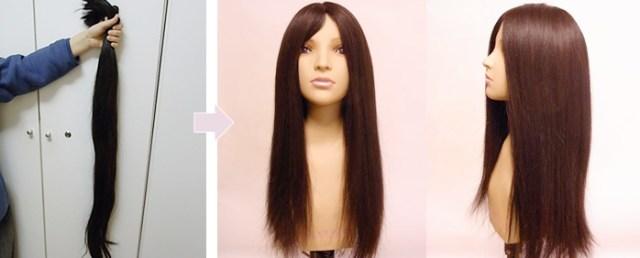 将来的に役立つかも? 自分の髪の毛でオーダーメイドウィッグを作れるサービスがある!