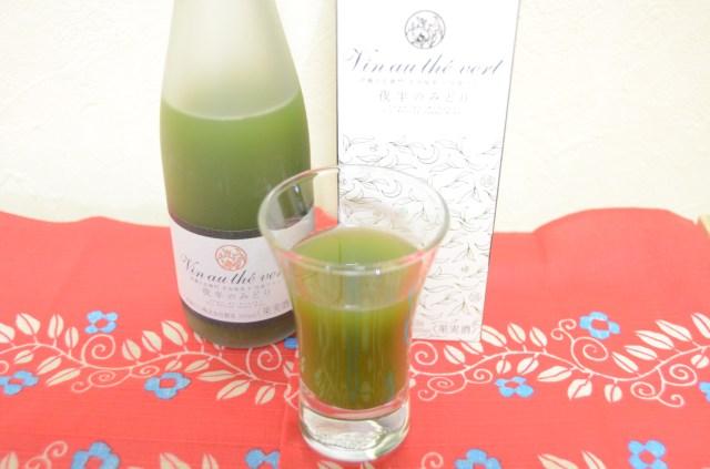 抹茶なのか白ワインなのか!? 京都・伊藤久右衛門のとびきり珍しい「抹茶ワイン」を飲んでみた / 見た目と味のギャップに脳内騒然!