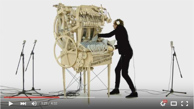 どうなってるのコレ…!? 2,000個の小さな鉄球&3,000のパーツで出来た楽器「Marble Machine」が不思議かっこいい!
