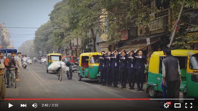 WORLD ORDERが中国とインドを舞台にした新曲MVを公開! ロボットダンスを不思議そうに眺める人々にご注目