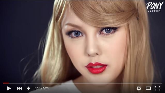 """テイラー・スウィフトにそっくり!! 韓国人美容ブロガーの""""なりきりメイク""""に海外からも驚きの声!"""