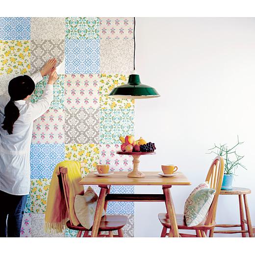 貼るだけでお部屋変身! 女の子カラーの「インテリア用マスキングテープ」で壁をパァっとイメチェンしてみよう♪