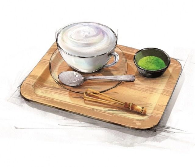 エクセルシオール カフェと「キリン生茶」がコラボ! 「まるごと緑茶葉と味わうふわふわグリーンラテ」がめっちゃおいしそう!!