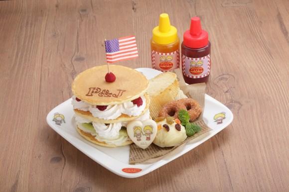 まるでハンバーガー!?風パンケーキ