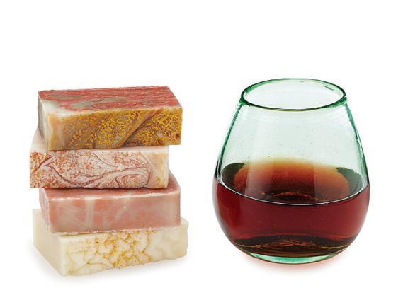 ワインに紅茶にチョコレート……個性豊かで美しい、ヴィーガン&グルテンフリーのハンドメイド石鹸たち♪