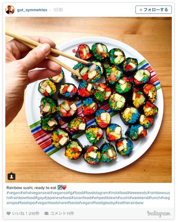 日本人の想像をはるかに超えた「レインボー寿司」が衝撃的! めちゃんこカラフルな海外の巻き寿司たちをご覧あれ☆