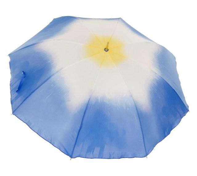 朝顔の花がパッと開く傘! 凛としてしとやかな「朝顔アンブレラ」が絶賛クラウドファンディング中