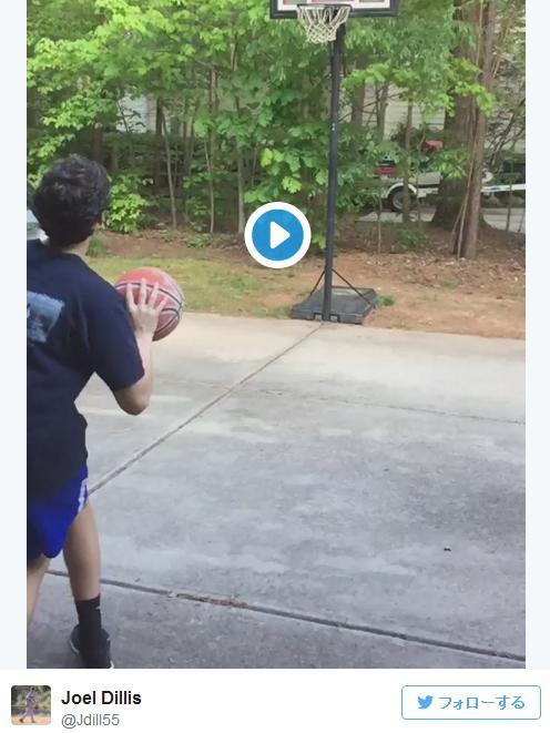 【動画あり】「ナイスシュート!」のハズだったのに……バスケ少年の身に起きた悲劇とは!?