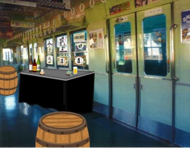うわあああ♪ 京阪電車が居酒屋やるってよ! ホーム&車両でお酒が飲める「中之島駅ホーム酒場」がめちゃ楽しそう!
