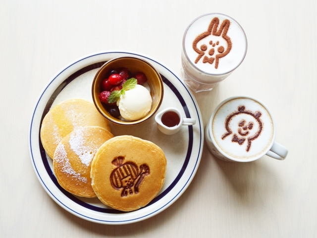 パンケーキもスタンプも超かわいい♪ 消しゴムはんこ作家「mizutama」のコラボカフェがオープンしてるよぉ~☆