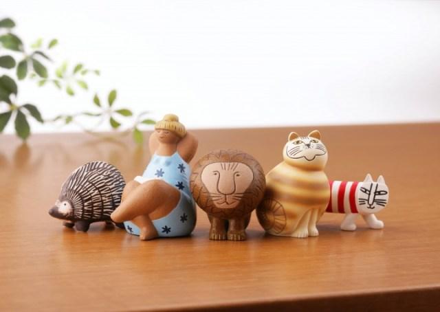 スウェーデンの陶芸家「リサ・ラーソン」の作品がカプセルトイになりました♪ あの癒し顔のライオンが500円で手に入るかも!