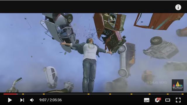 車が花火のように打ちあがって空を舞う! インド映画『あなたがいてこそ』が超とんでもなぁああい!!