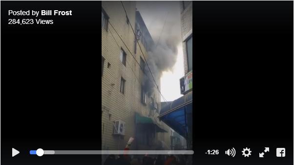 【救出劇】出火したビルに取り残された幼い子供3人を救うべく、母親がとった行動とは?