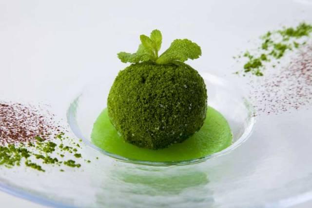 コケをモチーフにした「苔玉アイス」が衝撃的! 色、カタチ、どっからどう見ても苔玉にしか見えません…!!