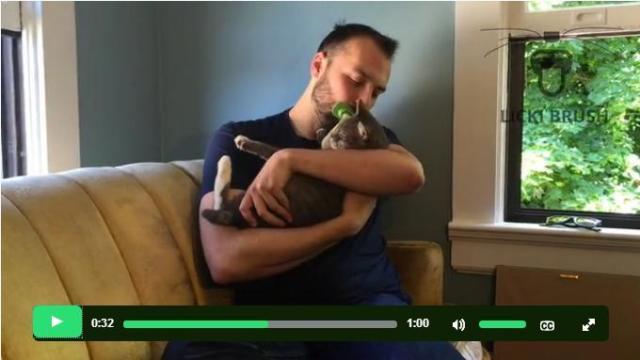 これさえあれば「愛猫をペロペロ」できる!? ちょっぴり変態ちっくなグルーミンググッズを発見したニャ!