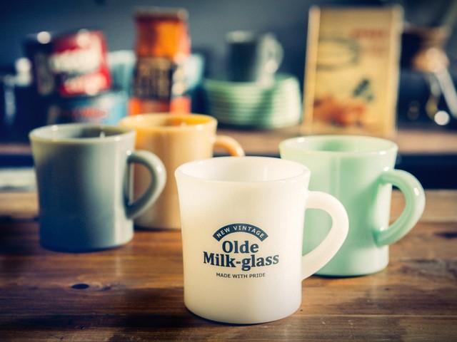 レトロな乳白色が魅力♪ 70年前に大流行したハンドメイドミルクガラスを日本で復刻しちゃいました!