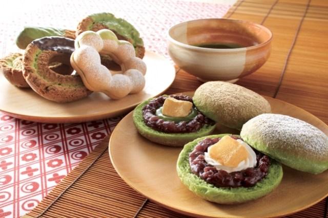ミスド初夏の新作は抹茶味が決め手の『和ドーナツ』! わらびもちの入ったメニューもあるんだって♪