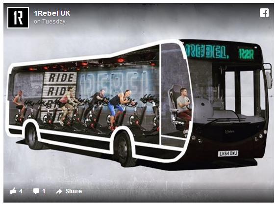 通勤バスの中に本格的なジムが! 早ければ今夏以降に英ロンドンの街を「フィットネスバス」が走るかも!!