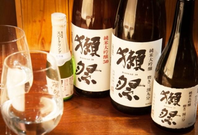「獺祭」の高級酒すら時間無制限で飲み放題! 東京・神楽坂の日本酒バルによる「日本酒飲み放題」が豪華すぎてヤバい