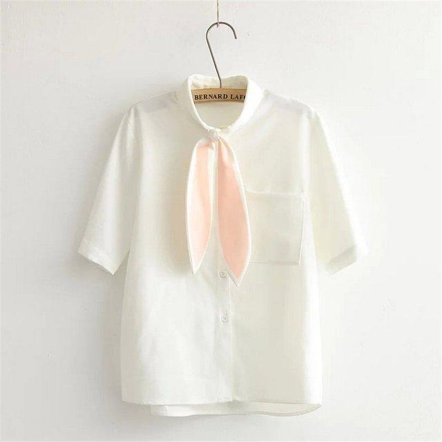 シャツの襟がかわゆすぎる「うさ耳ブラウス」を発見☆ これはもう女子のために生まれたアイテムだわ!!