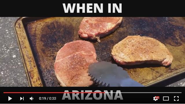 【ウソでしょ!?】記録的な熱波が襲った米アリゾナ州では「道路でステーキが焼ける! 」おまけにクッキーも…ってホントかな!?