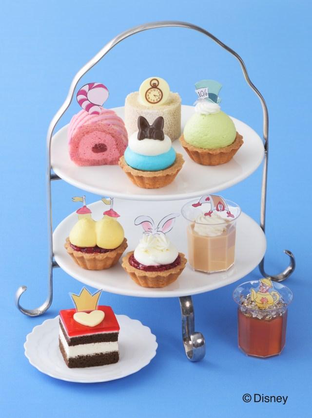 アリスと一緒にパーティしよっ! 銀座コージーコーナー「ふしぎの国のアリス」のプチケーキがめっちゃかわええ