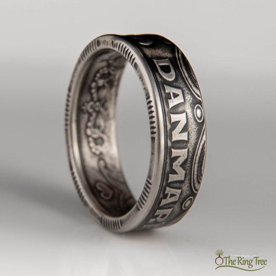古いコインが美しい指輪に大変身! 硬貨の特性をそのまま生かしたアンティーク風リングが素敵