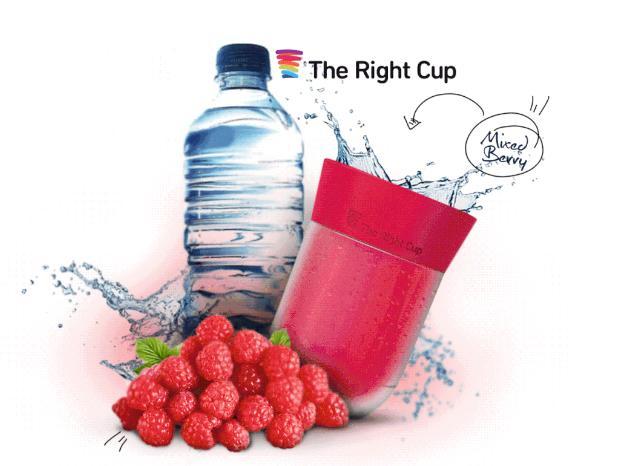 脳をダマしてただの水をジュースに変える!? 魔法のようだけど仕組みはいたって単純なカップ「The Right Cup」