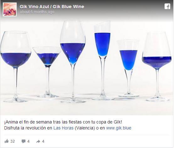 目の醒めるような美しい青! スペインの若者が生みだしたブルーカラーのワイン「Gik」