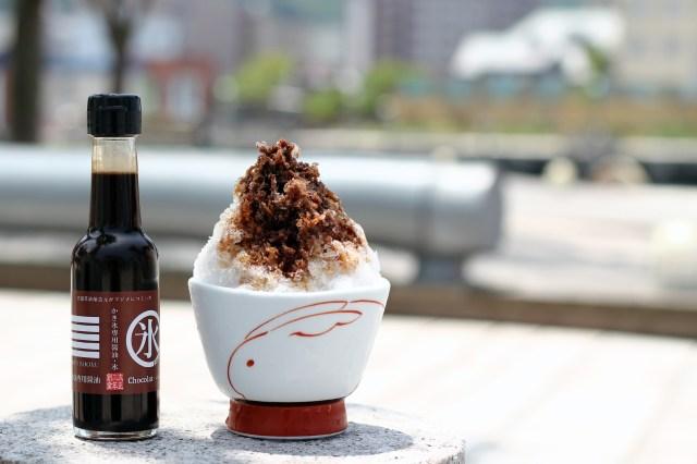 甘くてしょっぱいショコラ味!? 老舗醤油醸造元がマジメにつくった「かき氷にかけて食べる醤油」が気になる~!