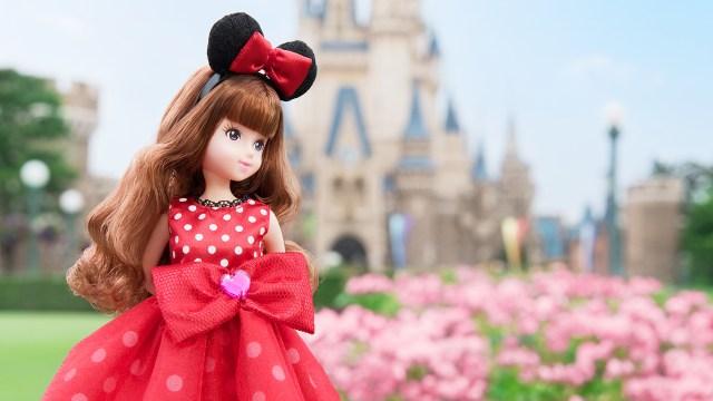 東京ディズニーリゾート初のファッションドールが誕生! パークを背景に写真を撮ったり一緒に連れて遊んだりしたくなる!!