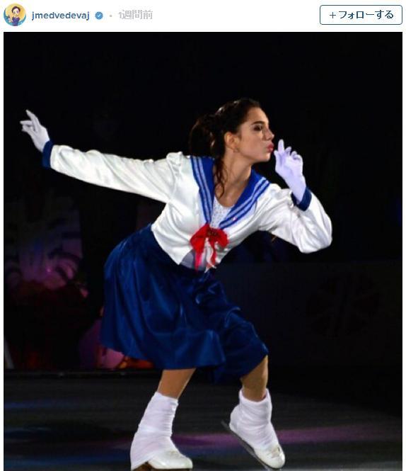 セーラームーンが氷上に光臨! ロシアのフィギュアスケート選手が披露した演技に感動…可愛いすぎて泣ける!!