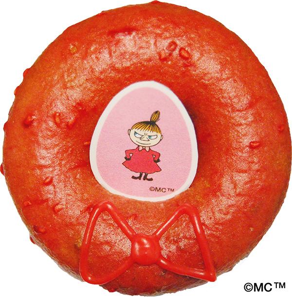 リトルミイはラズベリーパッション味♪ ムーミンと「ドーナッツプラント」のコラボドーナッツがかわいくておいしそうです!
