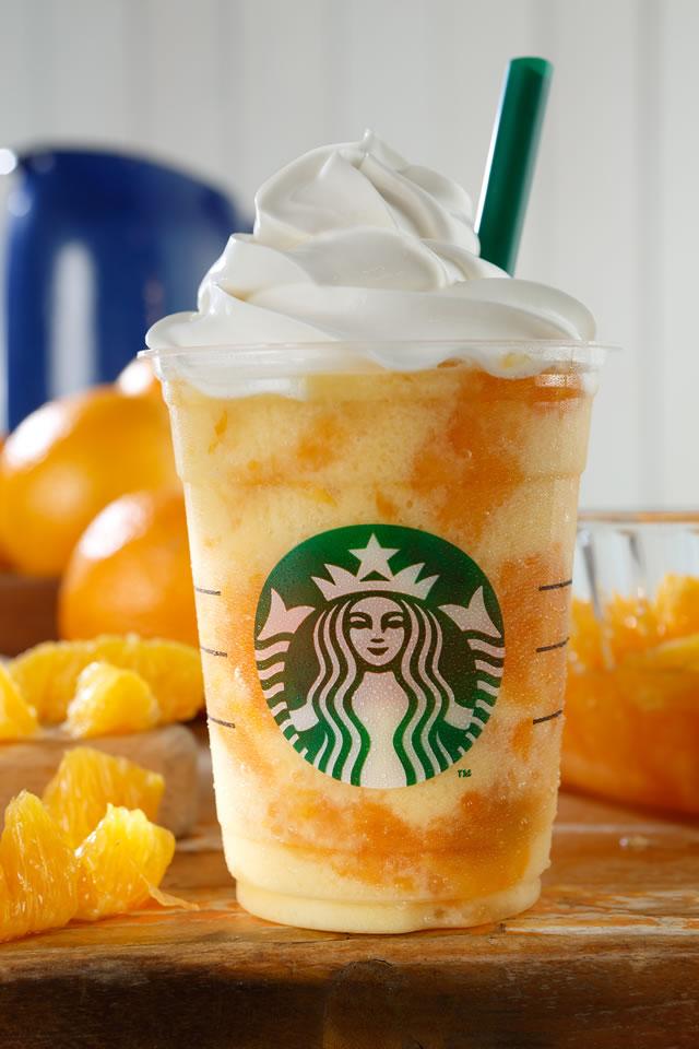 オレンジの果肉感を贅沢に味わえる…だと!? スタバの新作「クラッシュ オレンジ フラペチーノ」が絶対においしいやつだと話題に