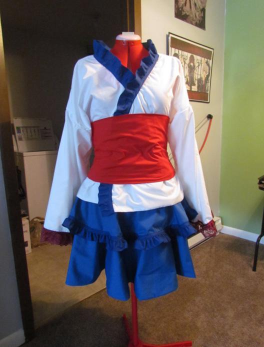『セーラームーン』『進撃の巨人』などアニメやゲームをイメージ! 日本への愛にあふれた着物風ロリータ服を発見☆