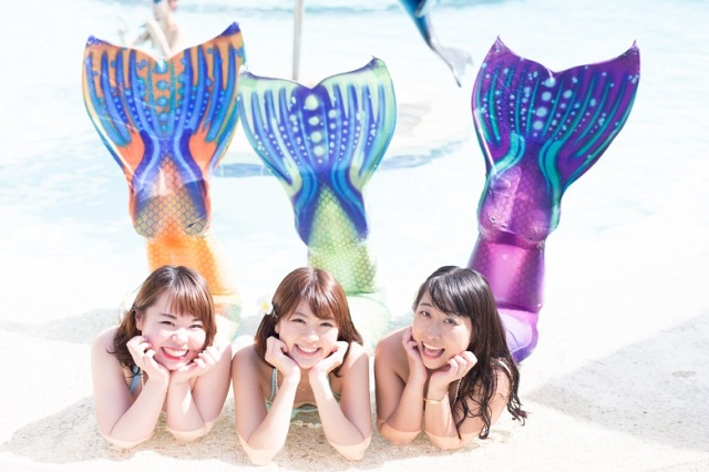 ビーチで憧れの人魚姫に変身しちゃおう☆ 激カワな写真が撮れる「マーメイドツアー」が気になるーー