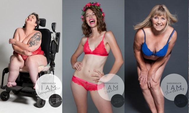 100人女性がいれば「100通りの体型」「100通りの人生」がある! ありのままの自分を愛したくなる写真集『Underneath We Are Women』